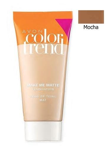 Avon Color Trend Mat Görünüm Veren Fondöten 30 Ml. Mocha Kahve